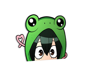 FROPPY LOVE PEEKER DECAL