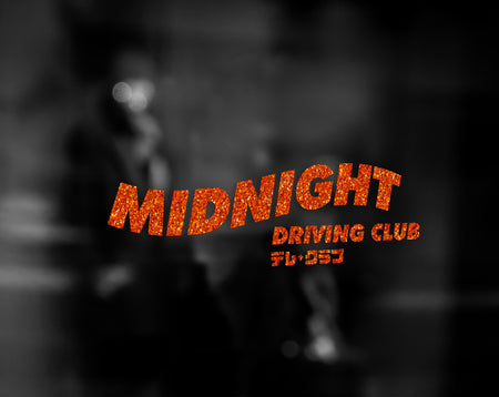 MIDNIGHT DRIVING CLUB DECAL - VARIANT