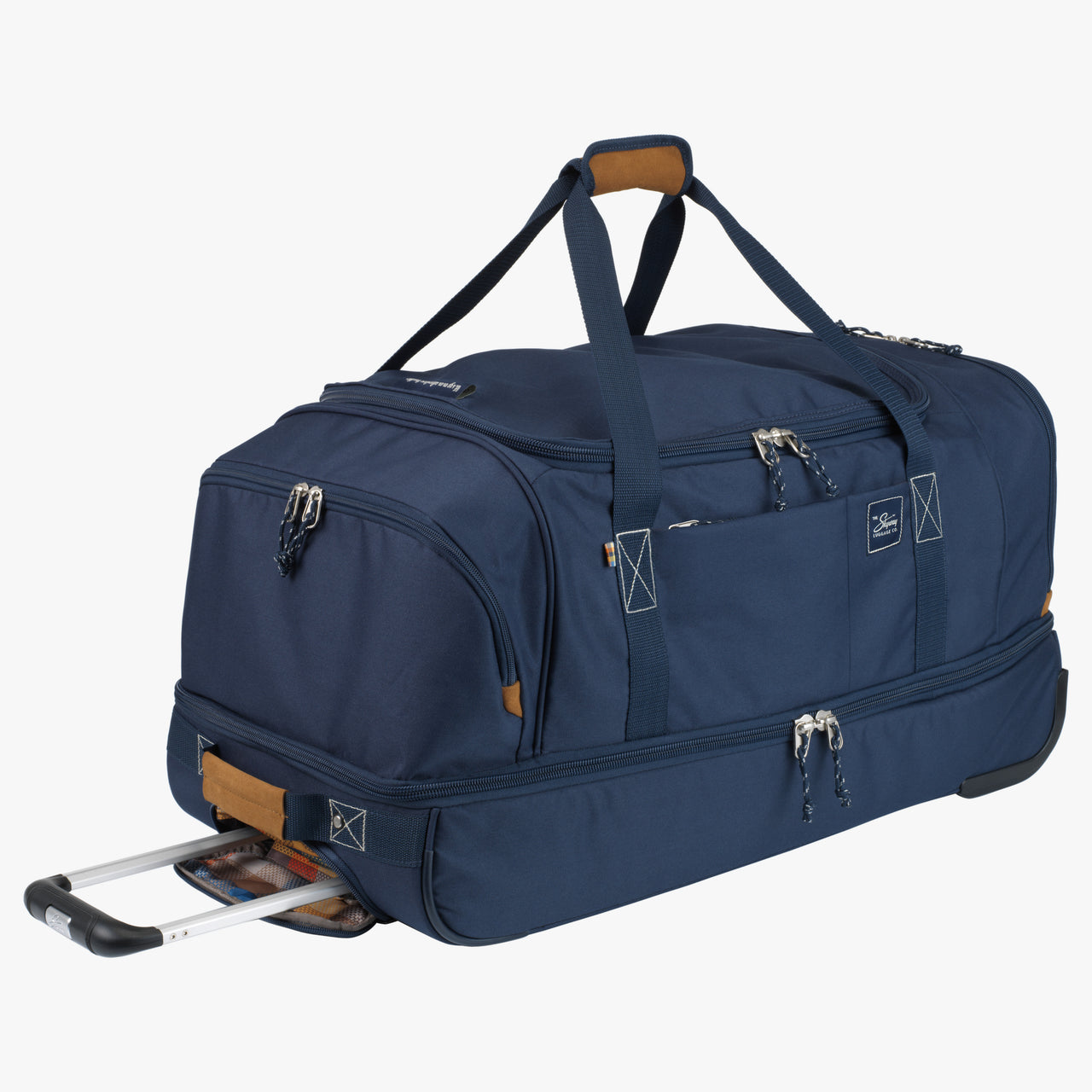 Whidbey Large Rolling Duffel in Blue