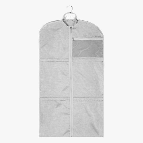 Large Garment Sleeve Essentials Large Garment Sleeve in Cloud Front Hanger View in  in Color:Cloud in  in Description:Front