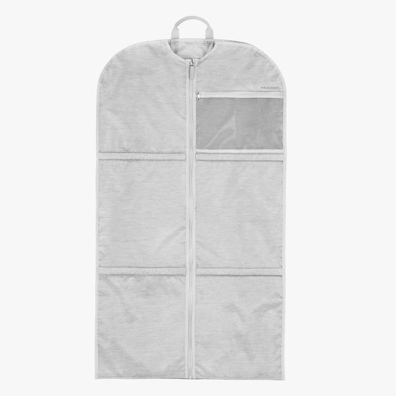 Large Garment Sleeve Essentials Large Garment Sleeve in Cloud Front View in  in Color:Cloud in  in Description:Front