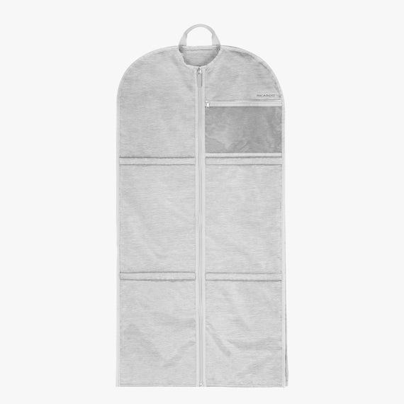 Small Garment Sleeve Essentials Small Garment Sleeve in Coud Front View in  in Color:Cloud in  in Description:Front