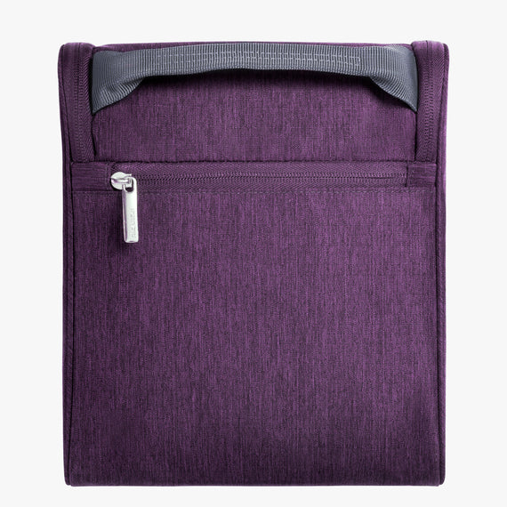 Toiletry Organizer Essentials 10 inch Organizer in Aubergine in  in Color:Aubergine in  in Description:Back