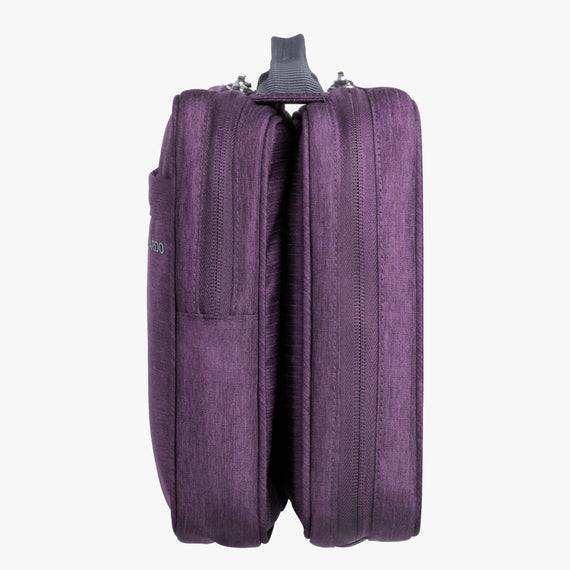 Deluxe Organizer Essentials 13-inch Organizer in Aubergine in  in Color:Aubergine in  in Description:Side
