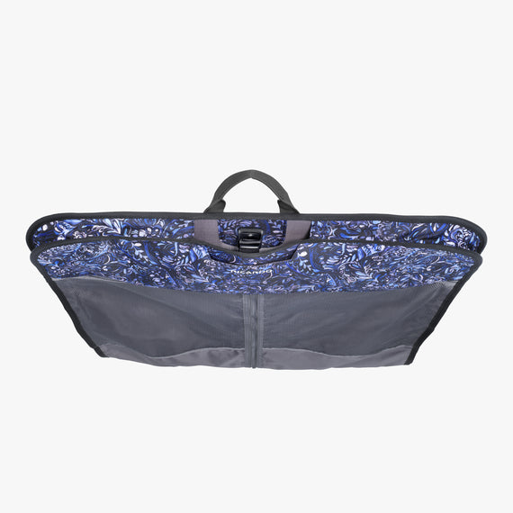 Garment Carrier Essentials 2.0 45-inch Garment Bag in Blue Twist Top View in  in Color:Blue Twist in  in Description:Top