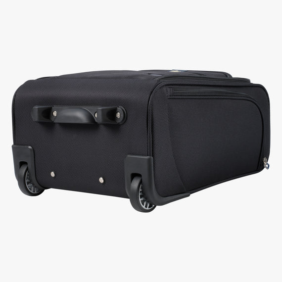 Small Carry-On Mirage 3.0 Carry On in Black Bottom View in  in Color:Black in  in Description:Bottom