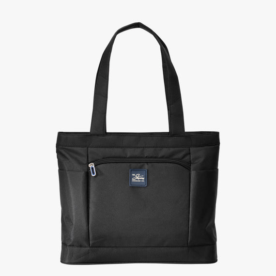 Travel Tote Mirage 3.0 Travel Tote in Black Front View in  in Color:Black in  in Description:Front