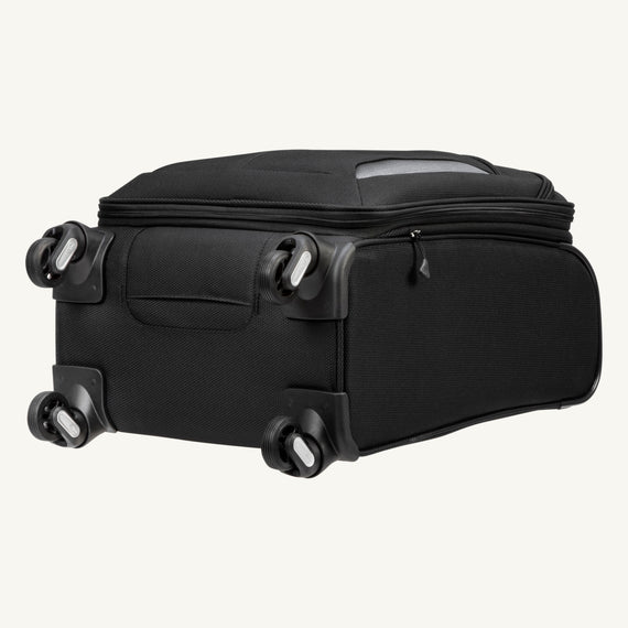 Carry-On Mirage 3.0 Carry On in Black Bottom View in  in Color:Black in  in Description:Bottom