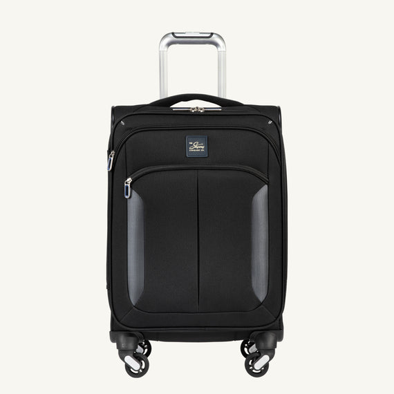 Carry-On Mirage 3.0 Carry On in Black Front View in  in Color:Black in  in Description:Front