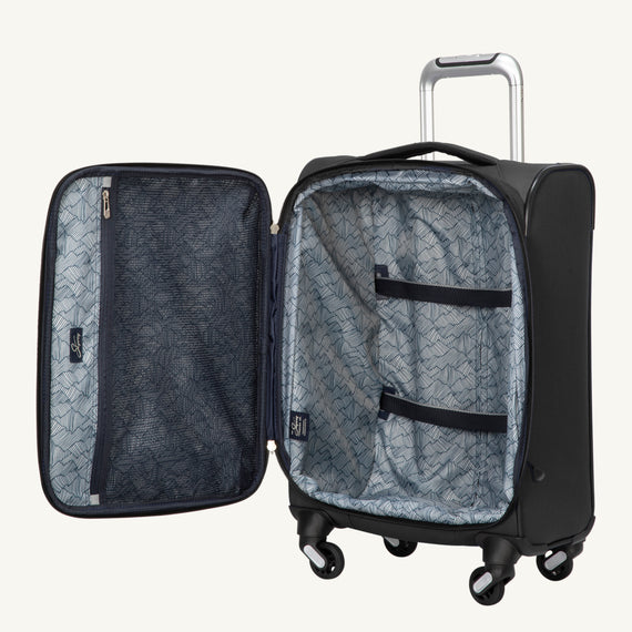 Carry-On Mirage 3.0 Carry On in Black Open View in  in Color:Black in  in Description:Open
