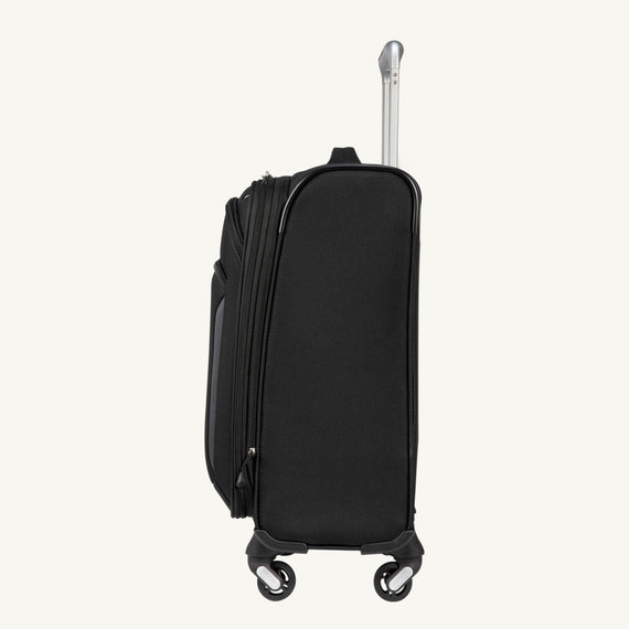 Carry-On Mirage 3.0 Carry On in Black Side View in  in Color:Black in  in Description:Side