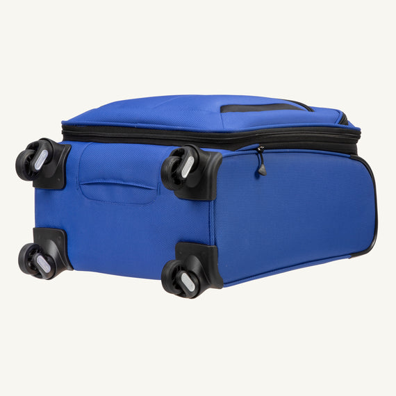 Carry-On Mirage 3.0 Carry On in Blue Bottom View in  in Color:Real Blue in  in Description:Bottom