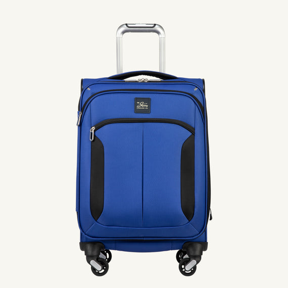 Carry-On Mirage 3.0 Carry On in Blue Front View in  in Color:Real Blue in  in Description:Front
