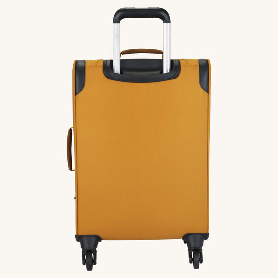 Carry-On Whidbey 20-inch Carry On in Honey Back View in  in Color:Honey in  in Description:Back