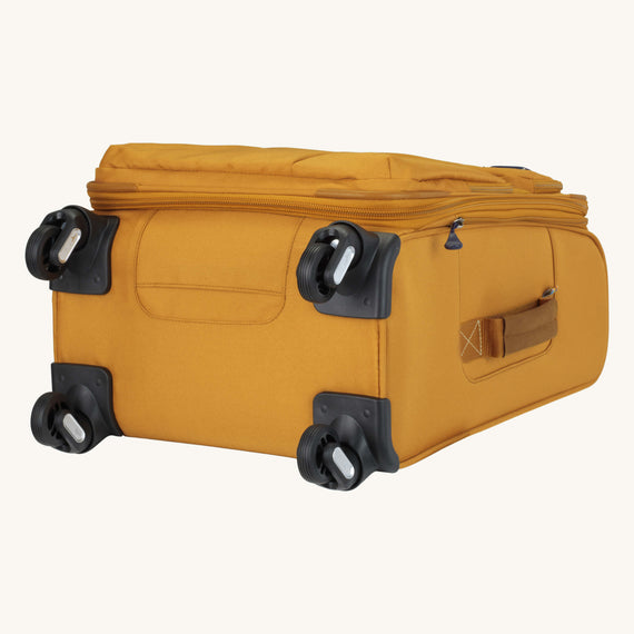 Carry-On Whidbey 20-inch Carry On in Honey Bottom View in  in Color:Honey in  in Description:Bottom