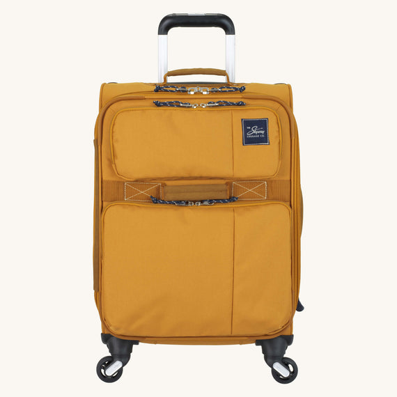 Carry-On Whidbey 20-inch Carry On in Honey Front View in  in Color:Honey in  in Description:Front