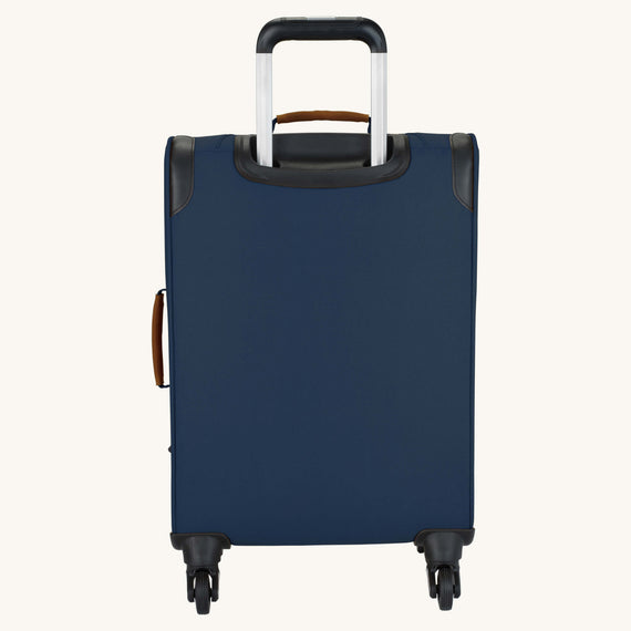 Carry-On Whidbey 20-inch Carry On in Midnight Blue Back View in  in Color:Midnight Blue in  in Description:Back