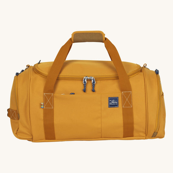 Duffel Whidbey 22-inch Duffel in Honey Front View in  in Color:Honey in  in Description:Front
