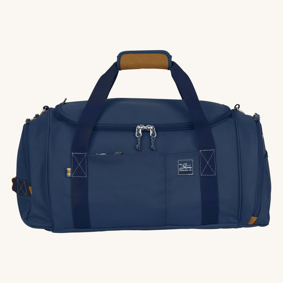 Duffel Whidbey 22-inch Duffel in Midnight Blue Front View in  in Color:Midnight Blue in  in Description:Front