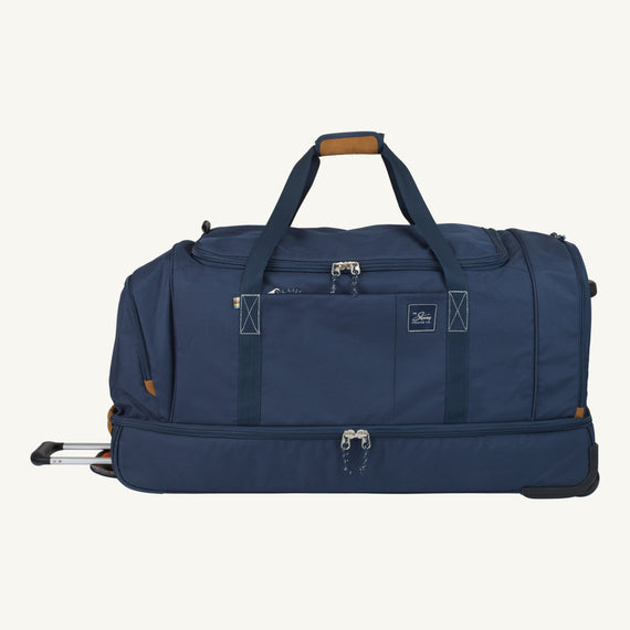 Extra Large Rolling Duffel Skyway Luggage 34-inch Rolling Duffel in Midnight Blue in  in Color:Midnight Blue in  in Description:Front
