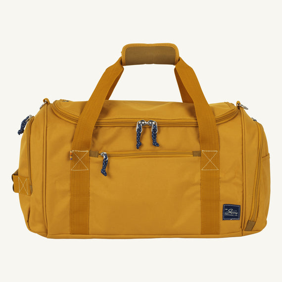 Weekender Duffel Coupeville 22-inch Duffel in Honey Front View in  in Color:Honey in  in Description:Front