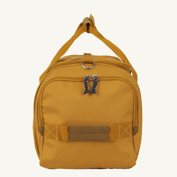 Weekender Duffel Coupeville 22-inch Duffel in Honey Side View in  in Color:Honey in  in Description:Side