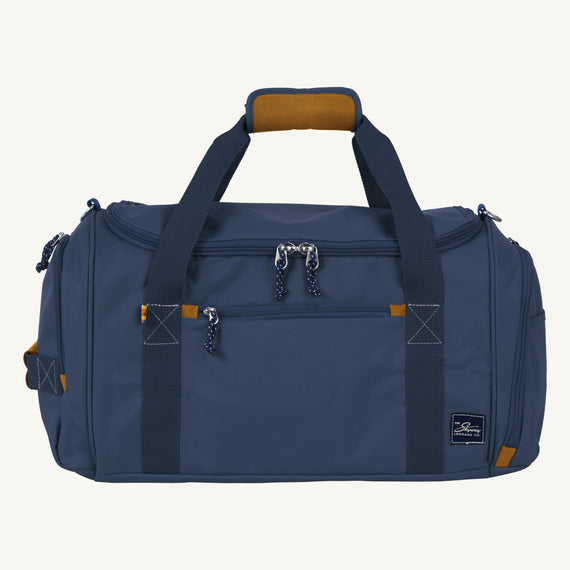 Weekender Duffel Coupeville 22-inch Duffel in Midnight Blue Front View in  in Color:Midnight Blue in  in Description:Front