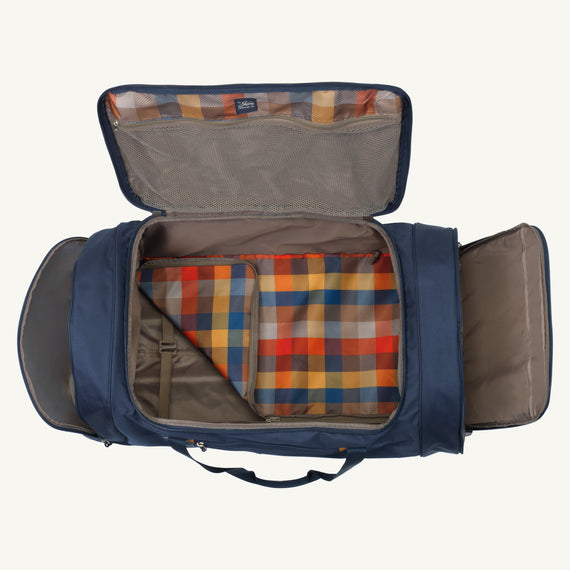 Extra Large Rolling Duffel Coupeville 34-inch Rolling Duffel in Midnight Blue in  in Color:Midnight Blue in  in Description:Opened