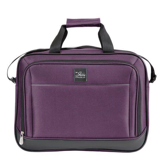 5-Piece Travel Set Skyway Luggage Seville 2.0  5-Piece Luggage Set Boarding Bag in Purple in  in Color:Purple in  in Description:Boarding Bag