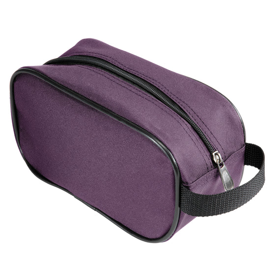 5-Piece Travel Set Skyway Luggage Seville 2.0  5-Piece Luggage Set Toiletry Bag in Purple in  in Color:Purple in  in Description:Toiletry Bag
