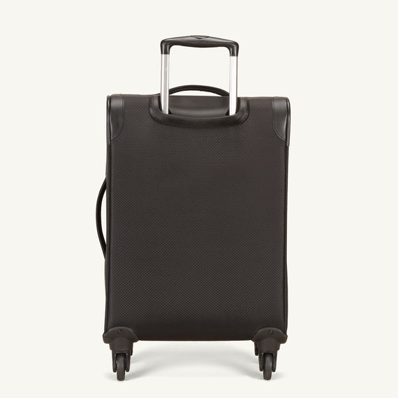 Carry-On Skyway Luggage 20-inch Carry-On Spinner Luggage in Black in  in Color:Black in  in Description:Back