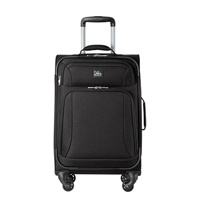 Carry-On Epic 20-inch Carry-On Suitcase in Black Front View in  in Color:Black in  in Description:Front