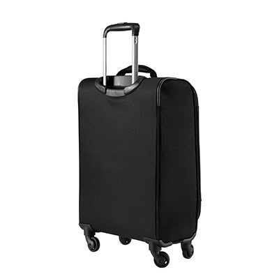 Carry-On Epic 20-inch Carry-On Suitcase in Black Back Angle View in  in Color:Black in  in Description:Back Angle