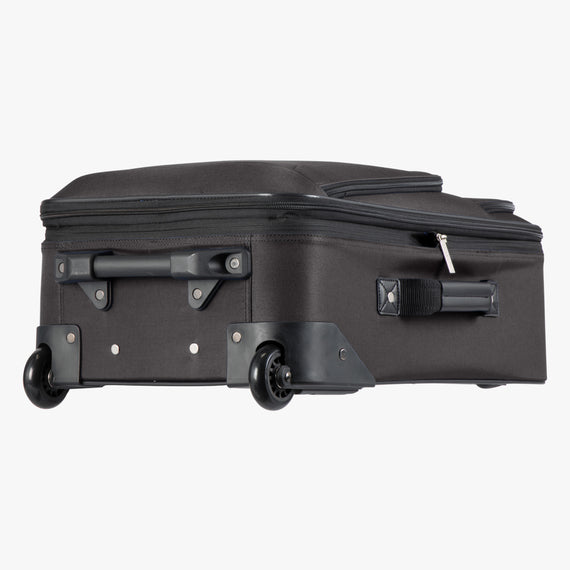 2-Wheel Carry-On Epic 2-wheel Carry-On in Black Bottom View in  in Color:Black in  in Description:Bottom