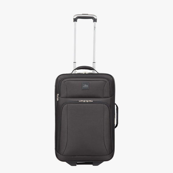 2-Wheel Carry-On Epic 2-wheel Carry-On in Black Front View in  in Color:Black in  in Description:Front