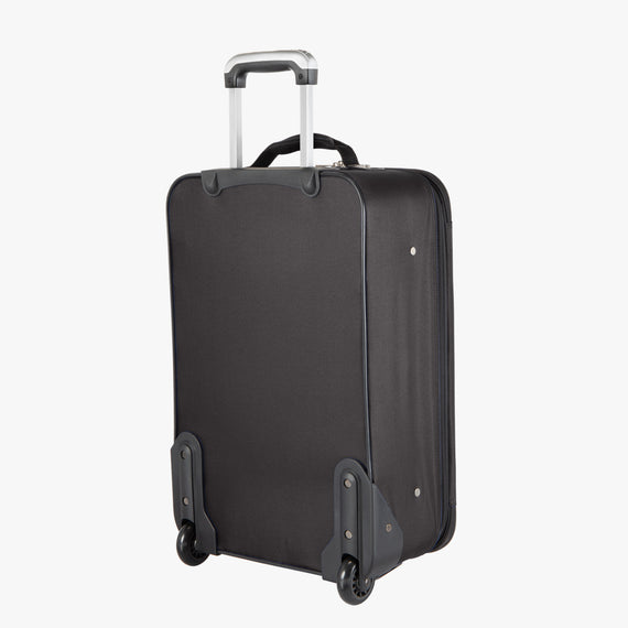 2-Wheel Carry-On Epic 2-wheel Carry-On in Black Back View in  in Color:Black in  in Description:Back Angle