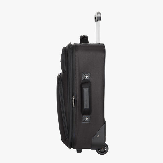 2-Wheel Carry-On Epic 2-wheel Carry-On in Black Side View in  in Color:Black in  in Description:Side