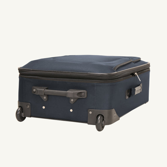 2-Wheel Carry-On Epic 2-wheel Carry-On in Blue Bottom View in  in Color:Surf Blue in  in Description:Bottom