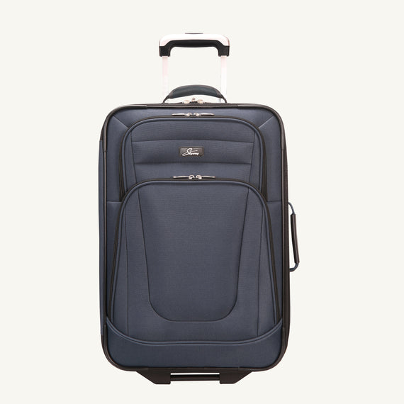 2-Wheel Carry-On Epic 2-wheel Carry-On in Blue Front View in  in Color:Surf Blue in  in Description:Front