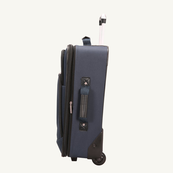 2-Wheel Carry-On Epic 2-wheel Carry-On in Blue Side View in  in Color:Surf Blue in  in Description:Side