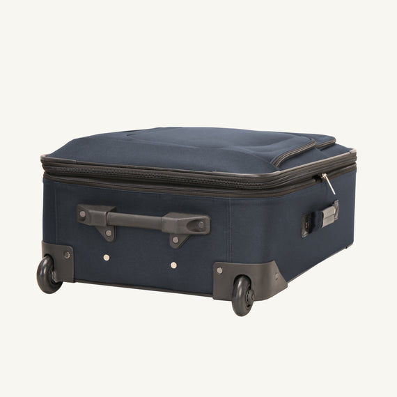2-Wheel Medium Check-In Epic 2-wheel 25-inch Check-in Suitcase in Blue Bottom View in  in Color:Surf Blue in  in Description:Bottom