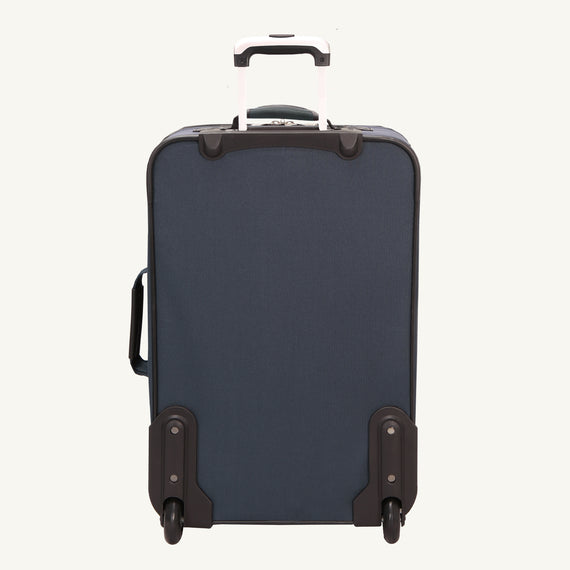 2-Wheel Medium Check-In Epic 2-wheel 25-inch Check-in Suitcase in Blue Back View in  in Color:Surf Blue in  in Description:Back