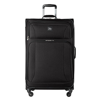 Large Check-In Epic 28-inch Check-In Suitcase in Black Front View in  in Color:Black in  in Description:Front