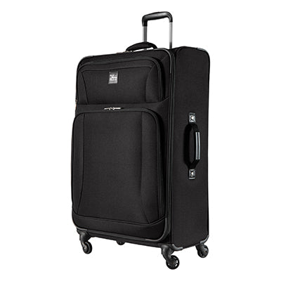 Large Check-In Epic 28-inch Check-In Suitcase in Black Angled View in  in Color:Black in  in Description:Angled View