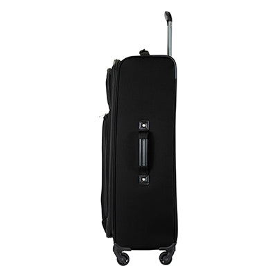 Large Check-In Epic 28-inch Check-In Suitcase in Black Side View in  in Color:Black in  in Description:Side