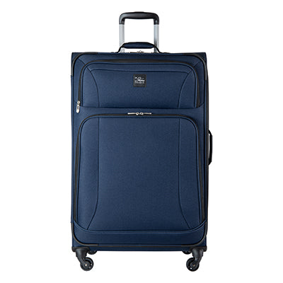 Large Check-In Epic 28-inch Check-In Suitcase in Blue Front View in  in Color:Surf Blue in  in Description:Front