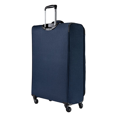 Large Check-In Epic 28-inch Check-In Suitcase in Blue Back Angle View in  in Color:Surf Blue in  in Description:Back Angle