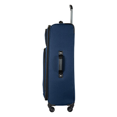 Large Check-In Epic 28-inch Check-In Suitcase in Blue Side View in  in Color:Surf Blue in  in Description:Side