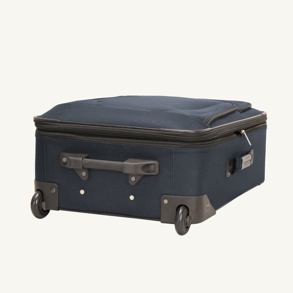 2-Wheel Large Check-In Epic 2-wheel 28-inch Check-in Suitcase in Blue Bottom View in  in Color:Surf Blue in  in Description:Bottom