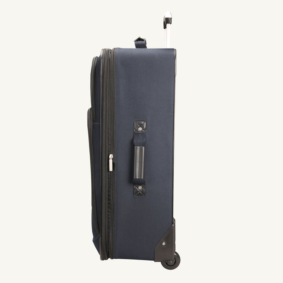 2-Wheel Large Check-In Epic 2-wheel 28-inch Check-in Suitcase in Blue Side View in  in Color:Surf Blue in  in Description:Side